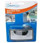Dreambaby Baby Mirror Rear View Rearwiew Child Infant Car Auto Safety Clips New