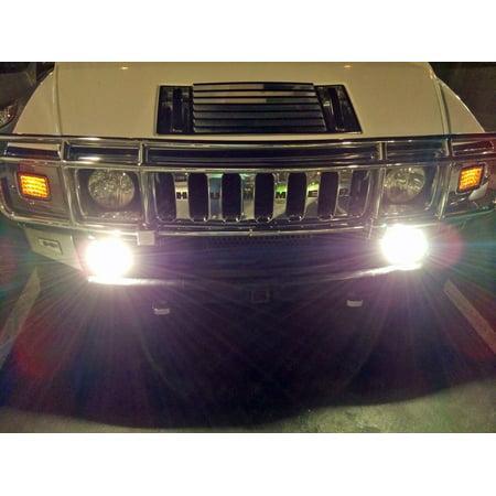 - 2003-2009 Hummer H2 Bumper Xenon Fog Lamps Driving Lights Kit
