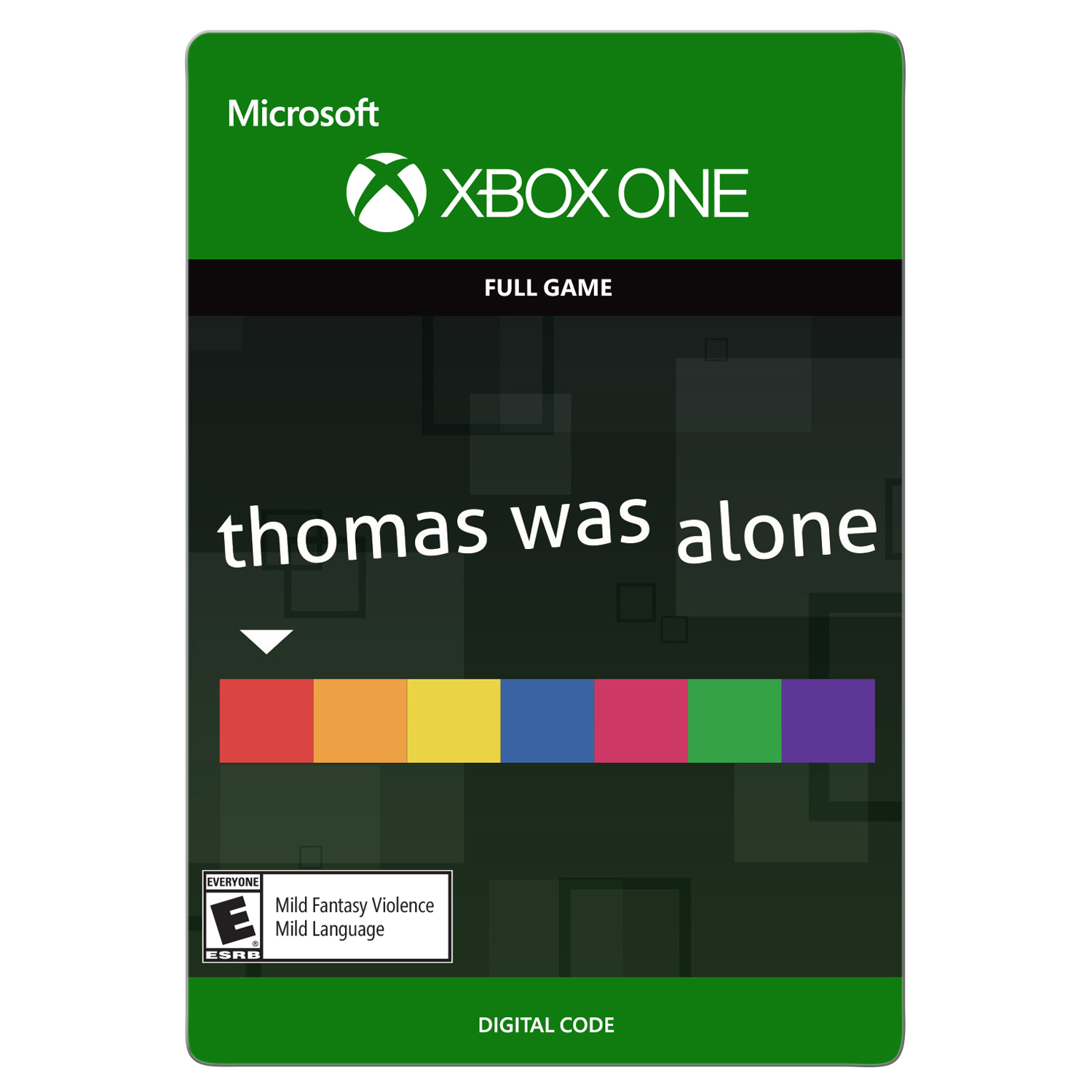 Xbox One Thomas Was Alone (email delivery)