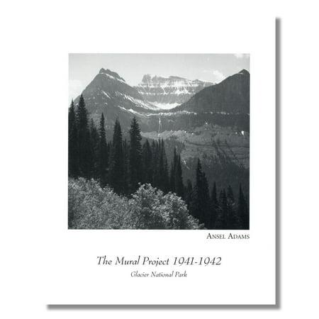 Ansel Adams B/W Photo Glacier National Park #1 Wall Picture 8x10 Art Print