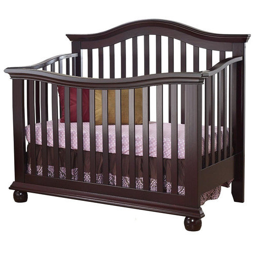 Sorelle Vista Couture 2-in-1 Convertible Crib, Espresso