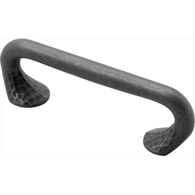 Hickory Hardware P2171-BI 3 inch Craftsman Black Iron Cabinet Pull