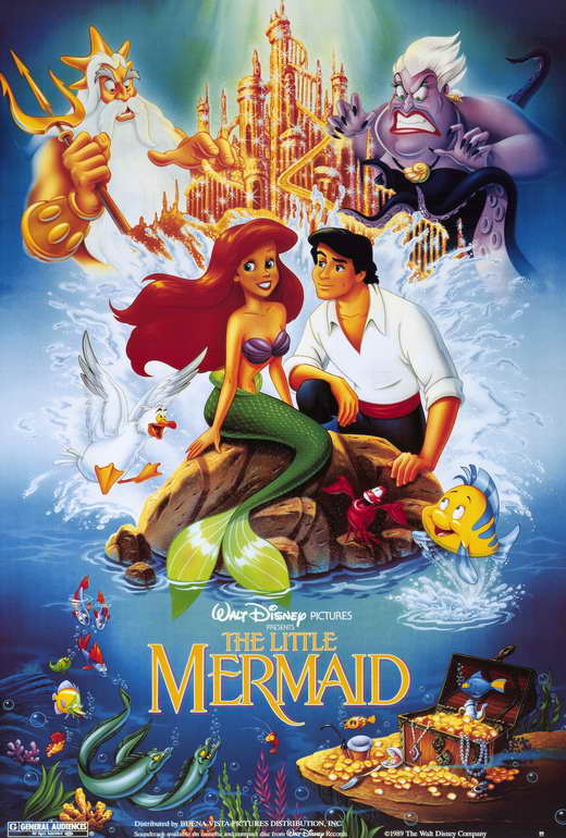 The Little Mermaid POSTER Movie D (27x40) by