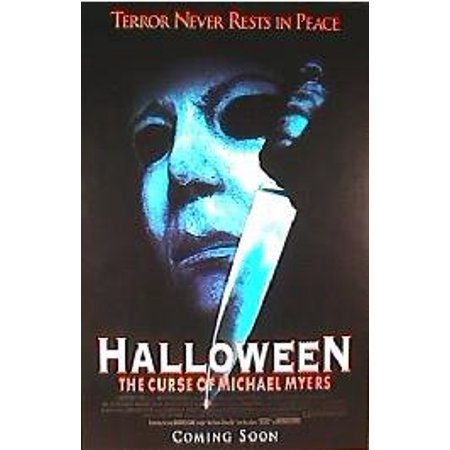 HALLOWEEN Curse of Michael Myers Movie Poster 24x36..., By The Gore Store Ship from - Halloween Gore Effects
