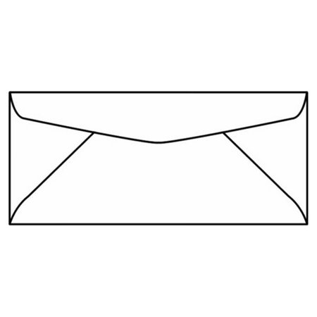 Business Machines - #10 Regular Machine Insertable Business Envelopes, 4-1/8