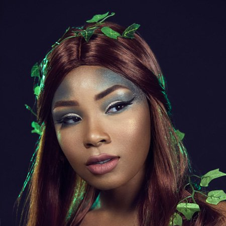 faces of dc poison ivy halloween makeup by aaliyahjay
