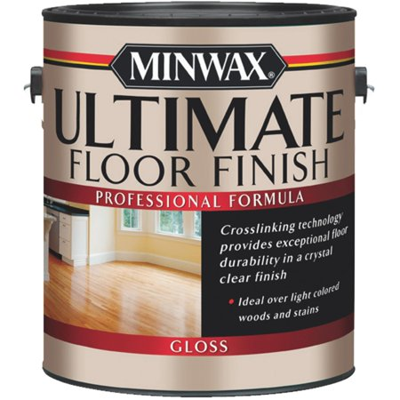 Minwax Gloss Clear Ultimate Floor Finish 1 gal. - Case Of: 2