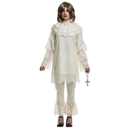 Charades Womens Costume Vintage Wicket Doll Large