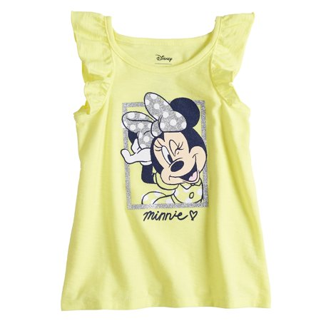 1c27f0f4e Disney's Minnie Mouse Baby Girl Glittery Graphic Tank Top by Jumping ...