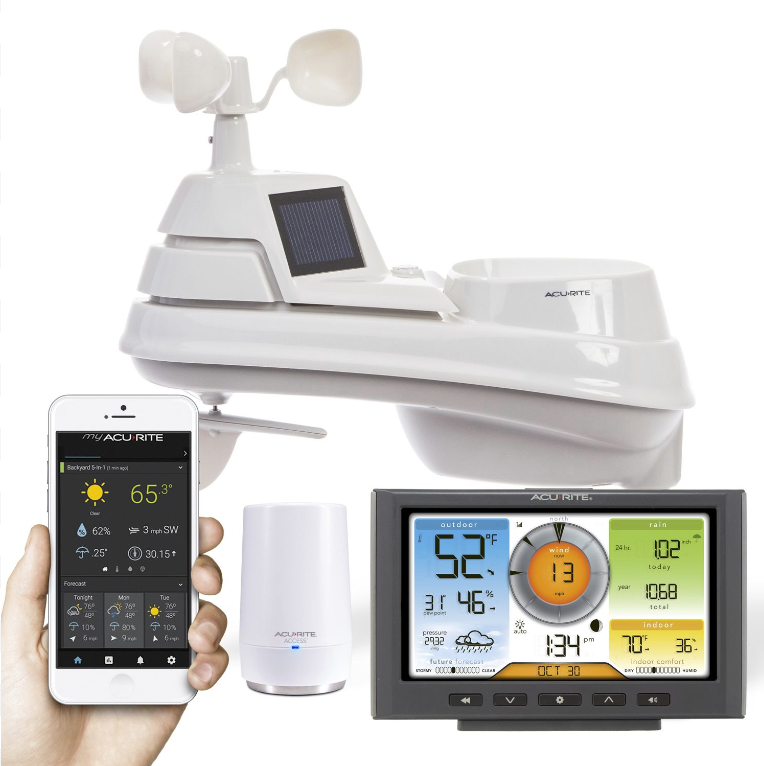 AcuRite 01209M HD Weather Station with Wi-Fi Forecast (Compatible with Weather Underground)