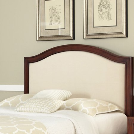 Home Styles Duet Queen Camelback Headboard With Oyster