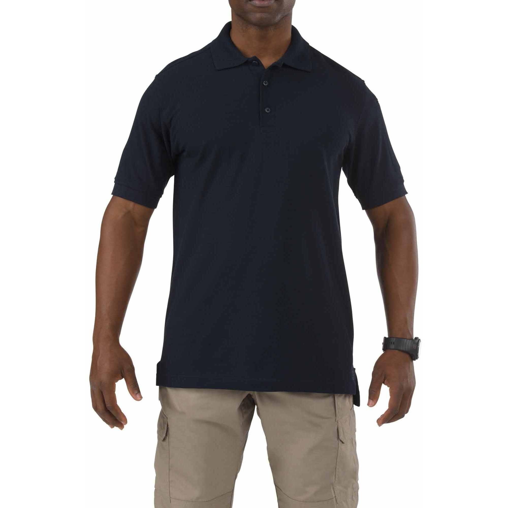 5.11 Tactical Short Sleeve Utility Polo, Dark Navy
