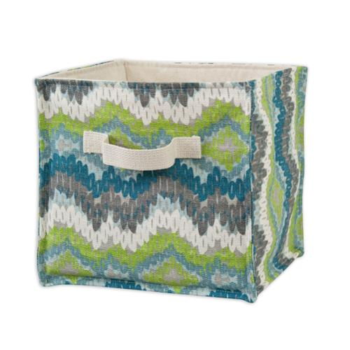 Chino Frost Birch Soft Sided Storage Container with Canvas Handle