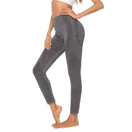 CVLIFE Plus Size Women High Waist Yoga Pants Push Up Yoga Leggings Fitness Sports Pants Active Wear Gym Workout Trousers Soft Stretch Running Jogging Casual