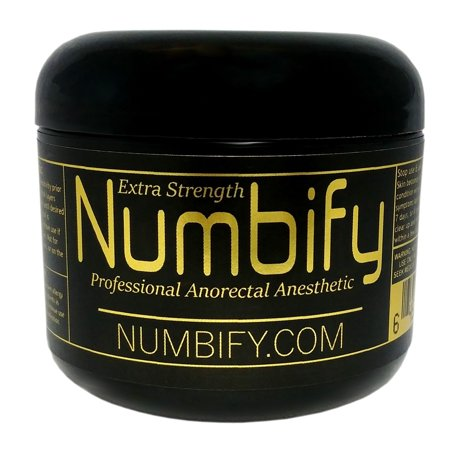 Pain Relief by Numb-ify: 5% Lidocaine Cream - Extra Strength Anesthetic - Numb-ify's Strongest & Best Pain Relief Cream (4