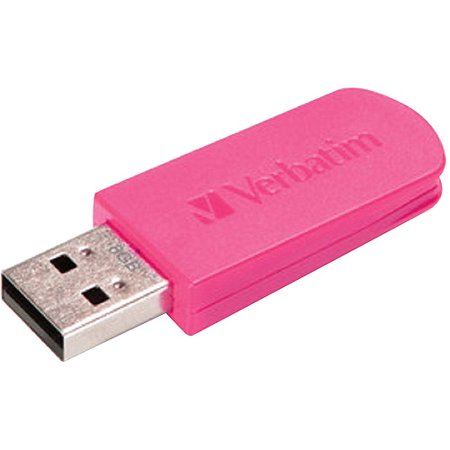 Offer VERBATIM 49830 Store 'n' Go (R) Mini USB Drive (8GB; Hot Pink) Before Special Offer Ends
