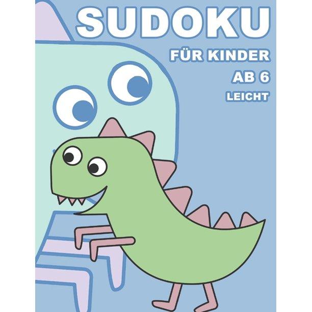 sudoku für kinder ab 6 leicht  100 rätsel  rätselblock