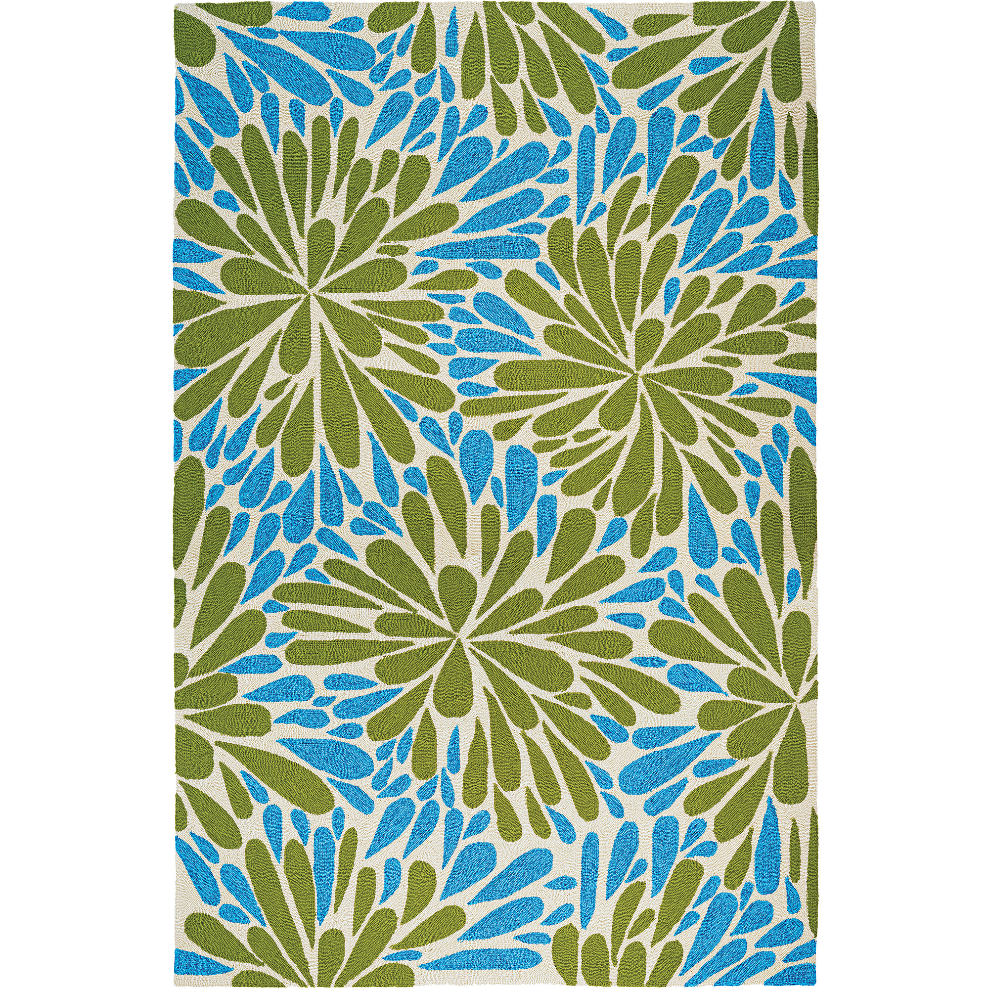 Couristan Covington Summer Siesta Rug, Sand/Multi-Colored