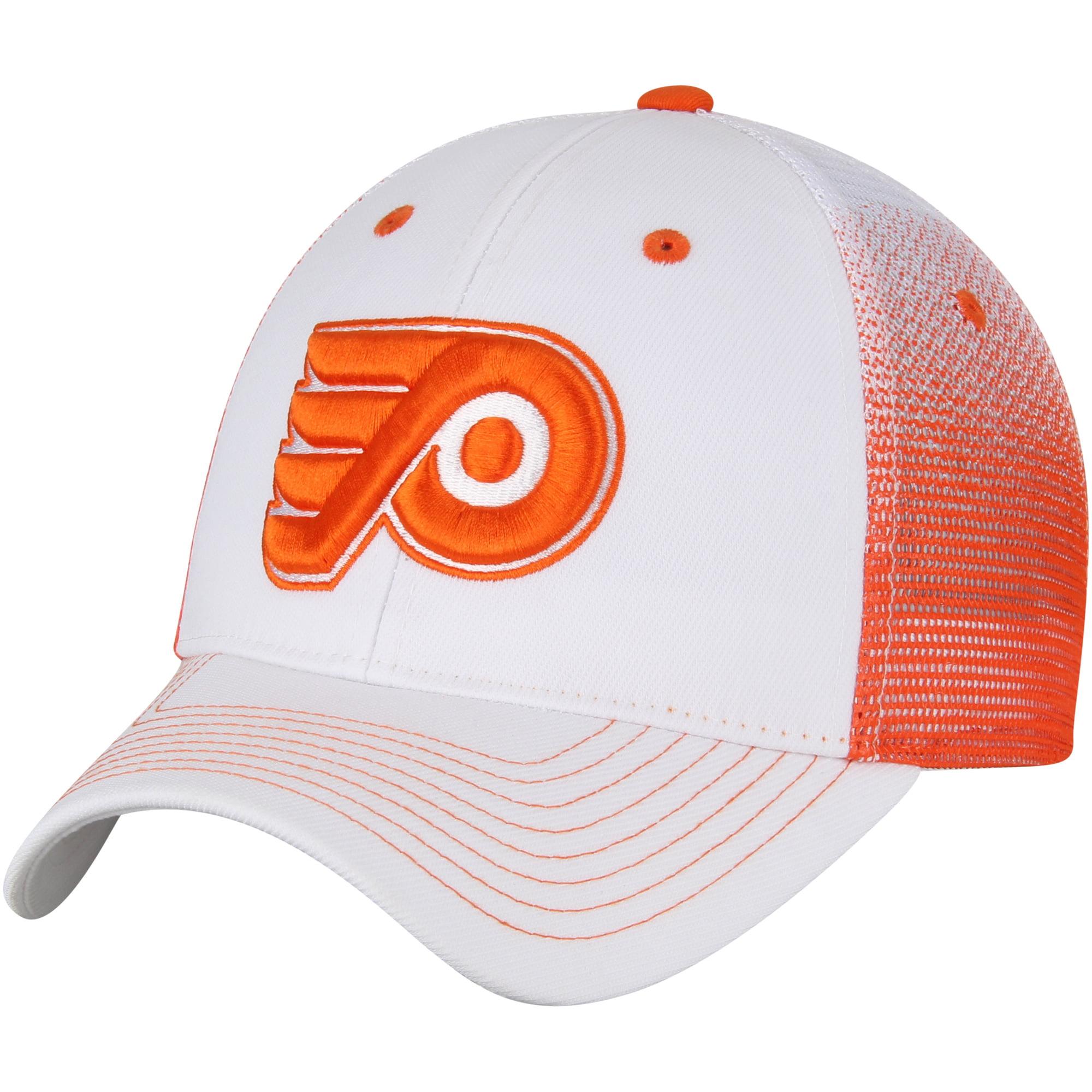 1b71c1b9d7f75 ... wholesale philadelphia flyers zephyr jolt trucker adjustable snapback  hat white orange osfa 33e67 051f9