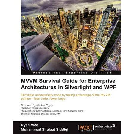 MVVM Survival Guide for Enterprise Architectures in Silverlight and (Best Wpf Mvvm Framework)