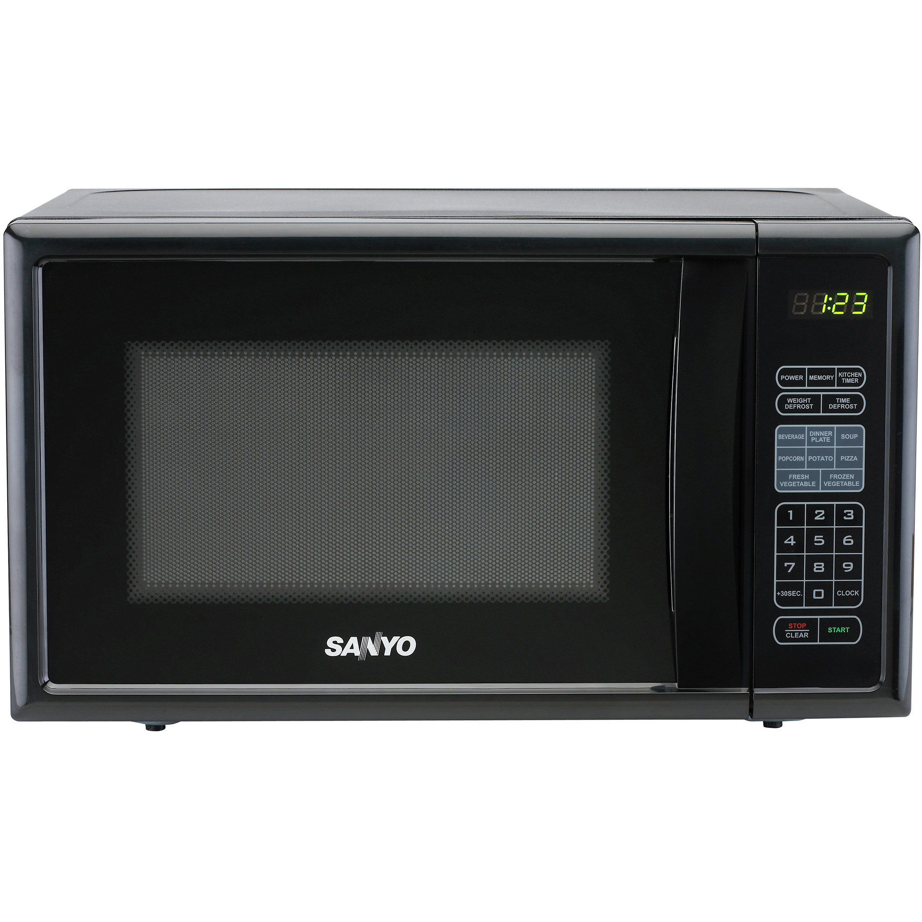 how to operate sanyo microwave oven