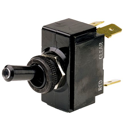 Cole Hersee M5411102 3-Position (On)/Off/(On) 5-Blade SPDT Illuminated Tip Toggle (Cole Hersee Rocker Switch)