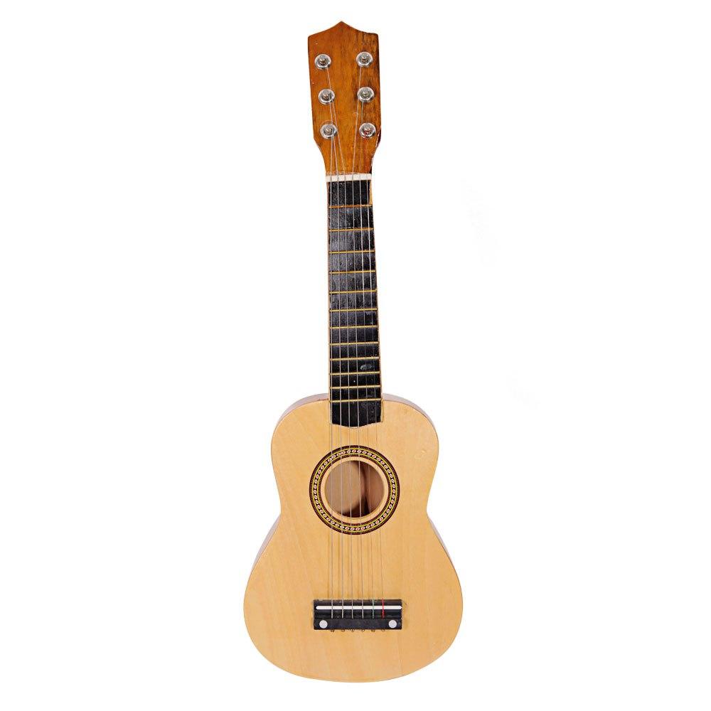 21 Acoustic Guitar Pick String Wood Color Walmart Com