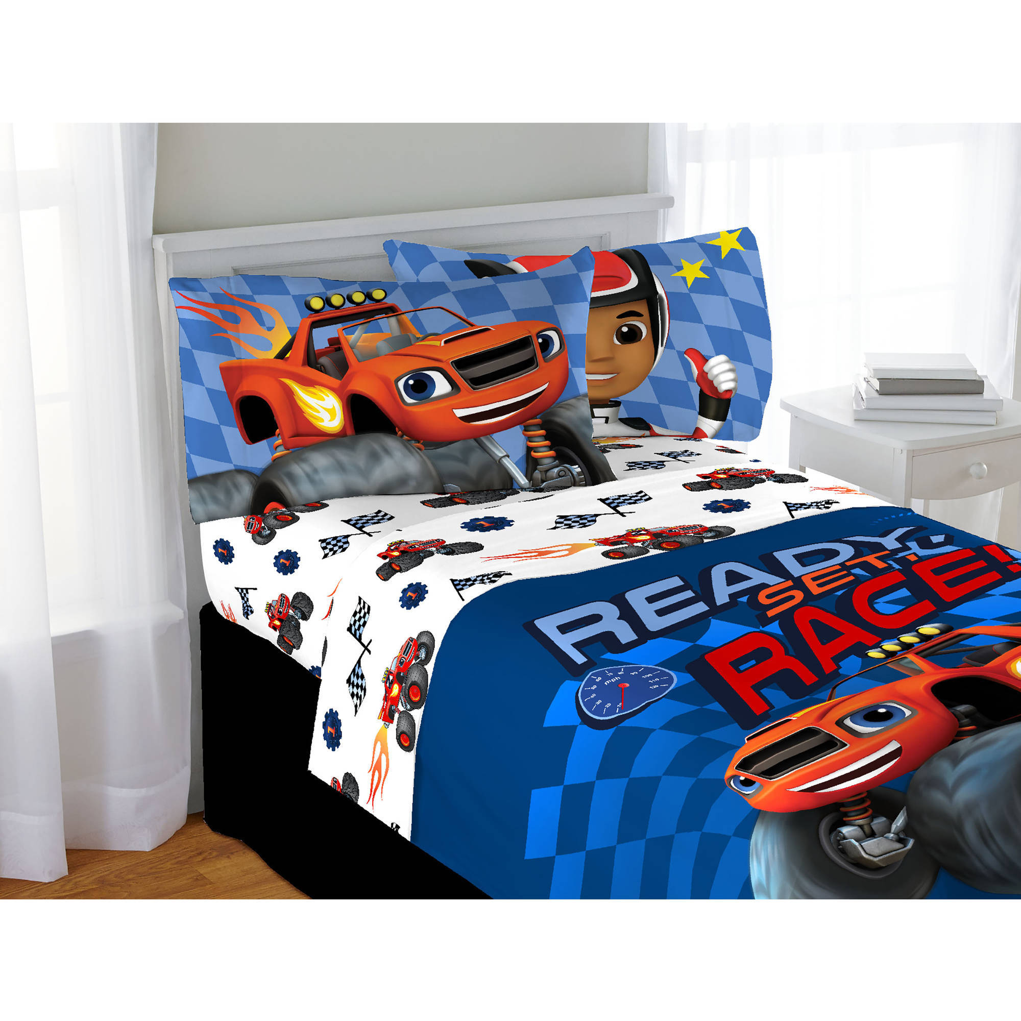 Nickelodeon Blaze and the Monster Machines High Octane Twin Sheet Set