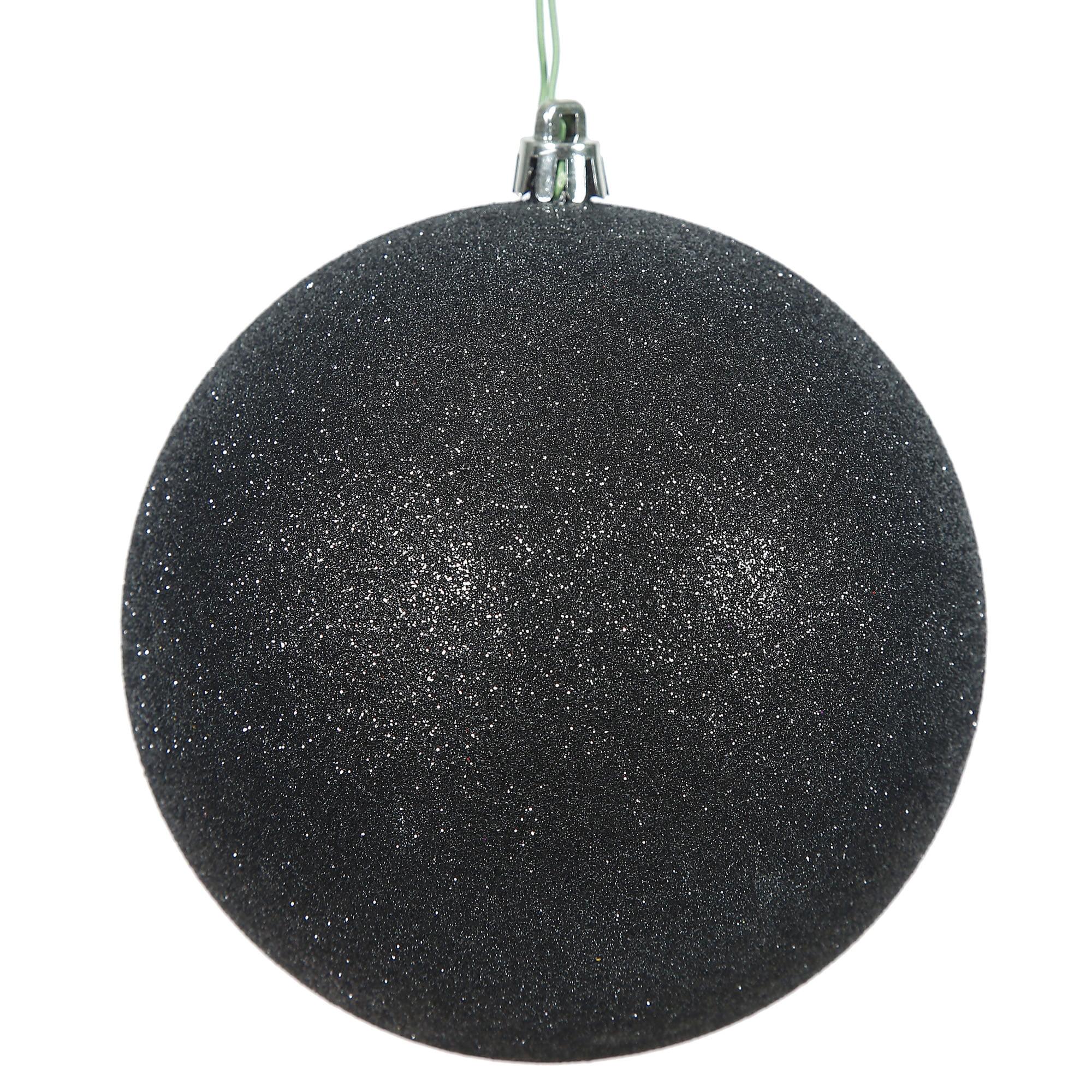 "2.75"" Baby Blue Glitter Ball Drilled 12/"