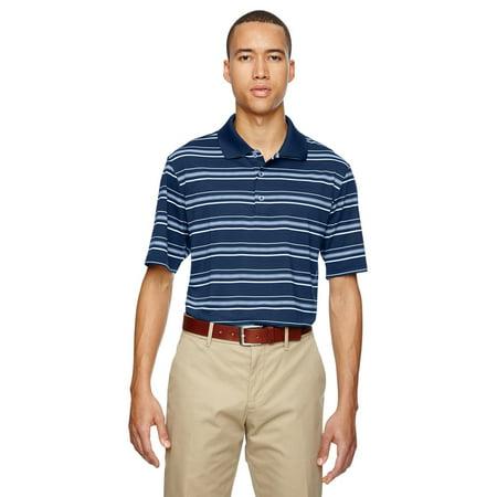 Adidas A123 Mens Textured Stripe Polo Shirt -Navy/White -Small Adidas F30 Trx Fg