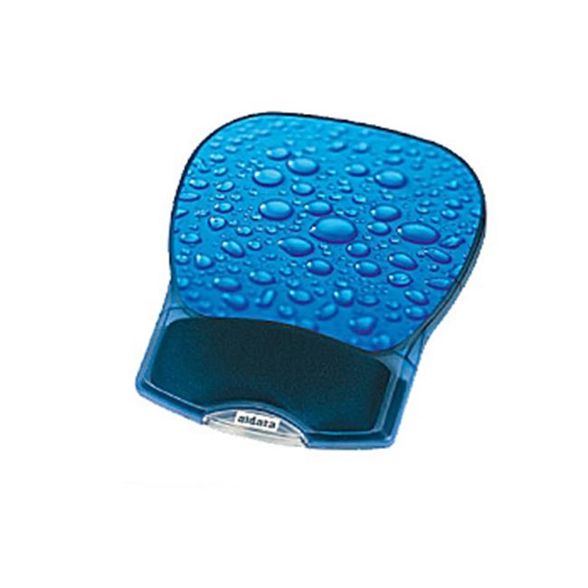 Aidata USA GL012D Deluxe Gel Mouse Pad - Water Drop
