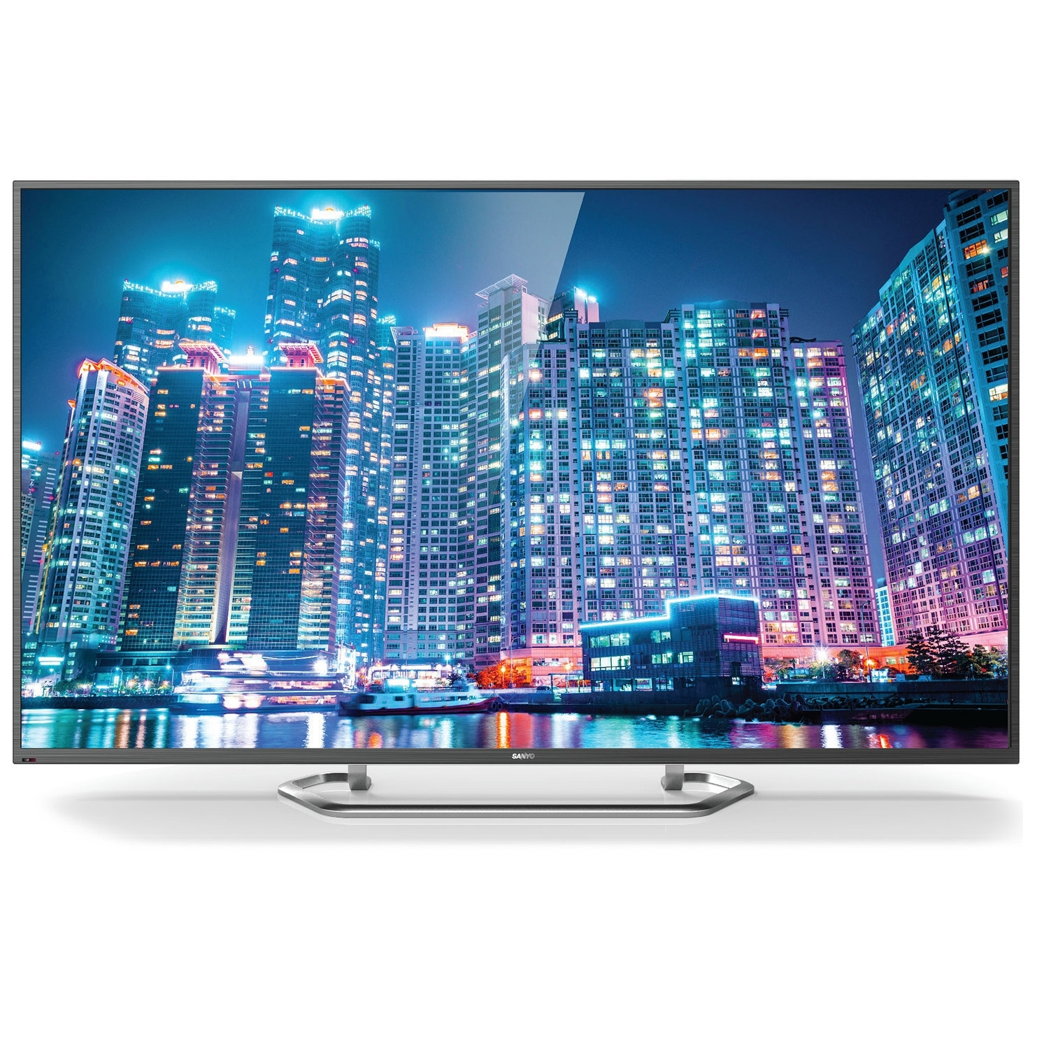"Sanyo FVD48R4 1080P 48"" LED TV, BLACK (Certified )"