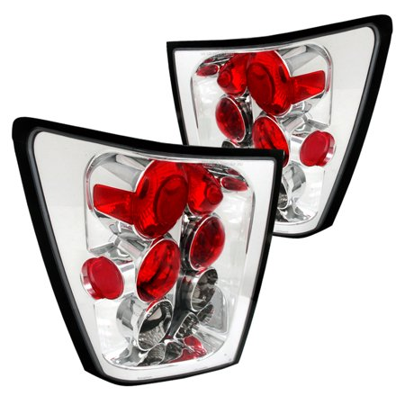 Spec-D Tuning For 2002-2006 Jeep Grand Cherokee Euro Tail Lights Lamp 2005 2006