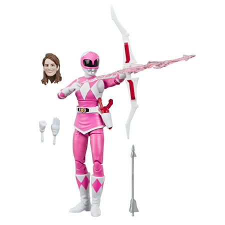 Power Rangers Lightning Collection Mighty Morphin Pink Ranger Figure Power Rangers Collectables