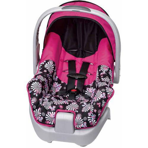 Evenflo Nurture Infant Car Seat, Pink
