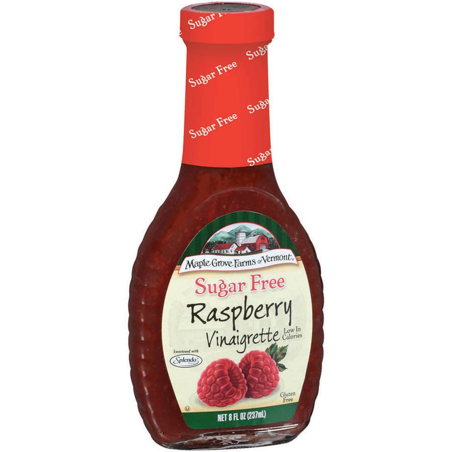 Maple Grove Farms Of Vermont Raspberry Vinaigrette, 8 oz (Pack of 6)