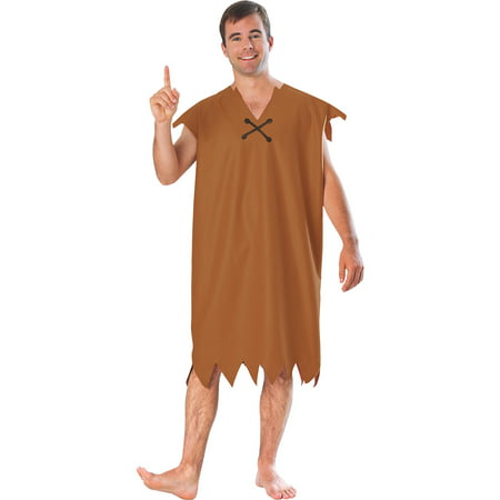 Flintstones Barney Adult Halloween Costume (Flintstone Family Costumes)