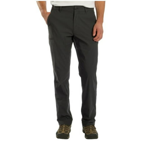Tech Pants - UB Tech Mens Rainier Travel Chino Active Cargo Pant (Charcoal, 34W x 30L)