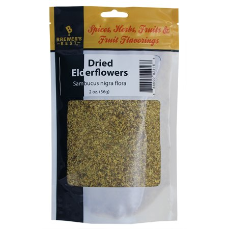Brewer's Best Brewing Herb's and Spices - Dried Elderflowers, 2