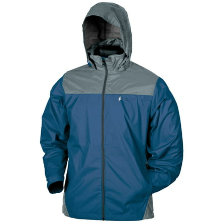 Frogg Toggs Mens River Roadz Self Packable Rain Adult Jacket - Small/Medium