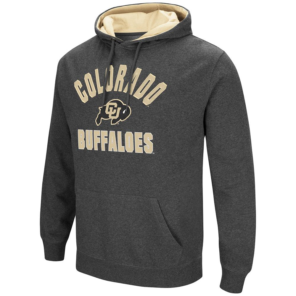 Mens NCAA Colorado Buffaloes Pull-over Hoodie by Colosseum
