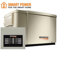 Generac 6998 - PowerPact 7.5/6 kW Air-Cooled Standby Generator with Automatic Transfer Switch