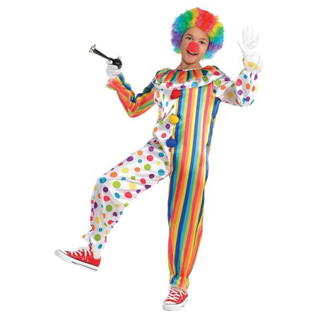 Clown Jumpsuit Child Costume - One Size](Clown Jumpsuit)