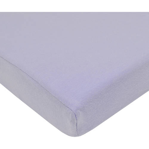 American Baby Company Supreme 100/% Natural Cotton Jersey Knit Fitted Crib Sheet