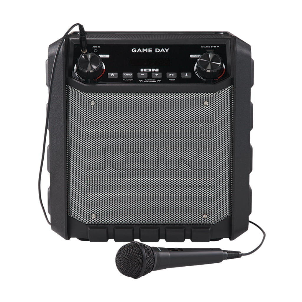 ION Tailgater Express Game Day 50-Watt Portable Bluetooth Wireless Speaker