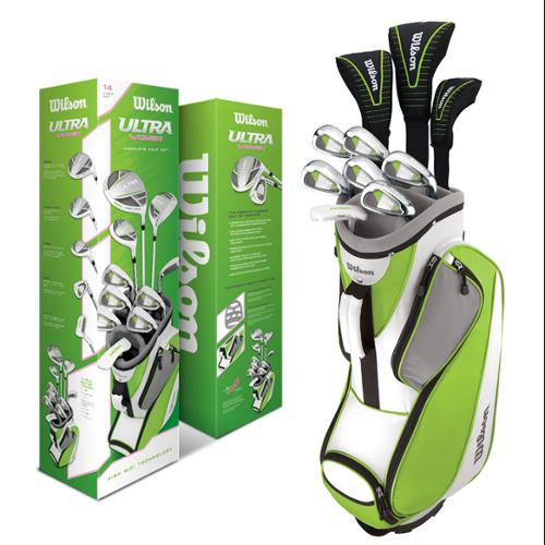 Wilson Ultra Women's Standard Right-Handed Golf Club Set With Bag | WGGC25100