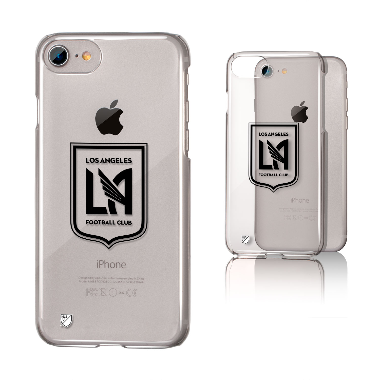 Los Angeles Footbal Club LAFC Insignia Clear Case for iPhone 8 / 7 / 6