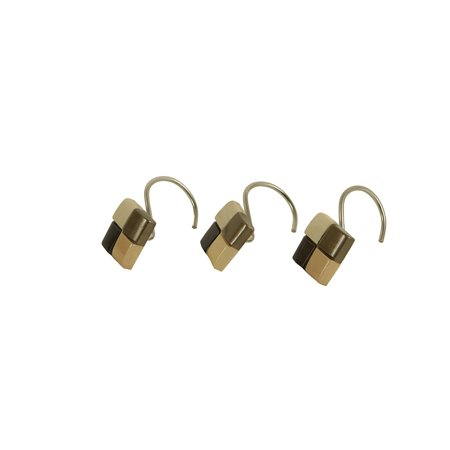 Mosaic Shower Curtain Hooks Set Of 12 From Croscill By