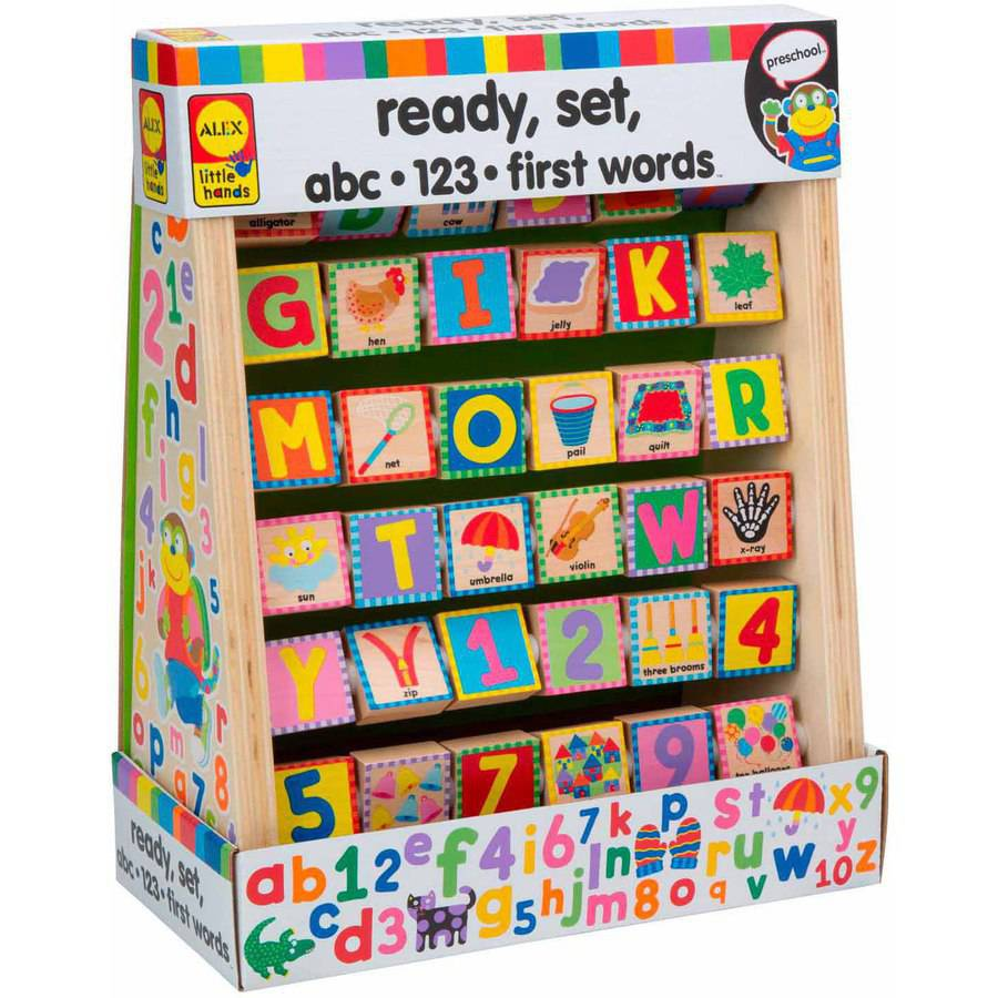 ALEX Toys Early Learning ABC/123 First Words