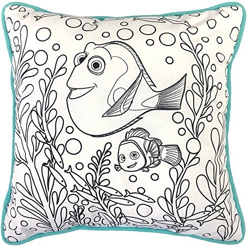 Disney Finding Dory Color Me Pillow, 1 Each